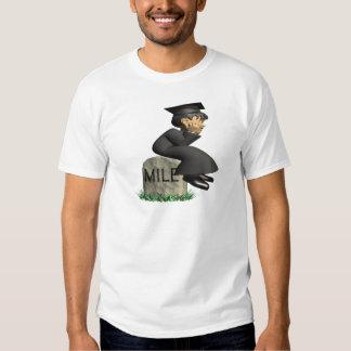 Piedra 2 de la milla camisetas