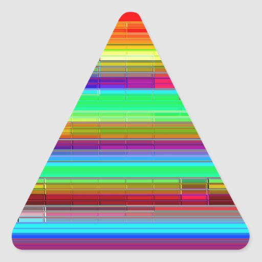 Piedra angular reconstruida colcomanias de triangulo personalizadas