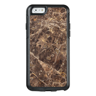 Piedra de mármol de moda en el color de Brown Funda Otterbox Para iPhone 6/6s