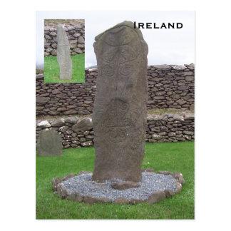 Piedra de Riasc, Kerry, Irlanda Postal