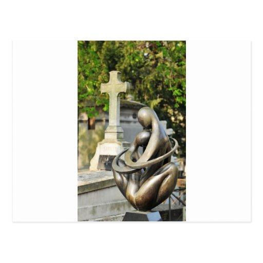 Piedra fúnebre postales