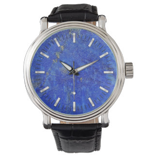 Piedra preciosa azul de Lazurite Reloj De Pulsera