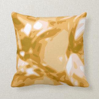 Piedra preciosa del Topaz/almohada amarillas de la Cojín Decorativo