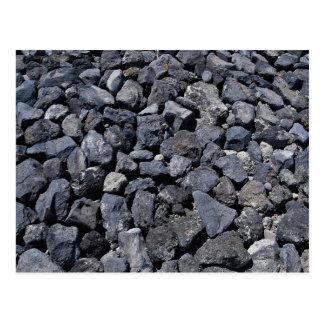 Piedras del dique en la costa de Los Cristianos, T Postal
