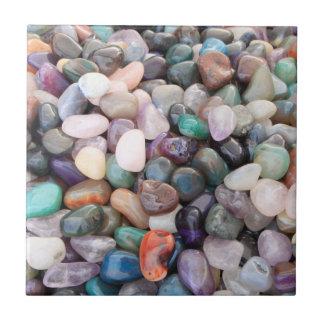 Piedras preciosas azulejo