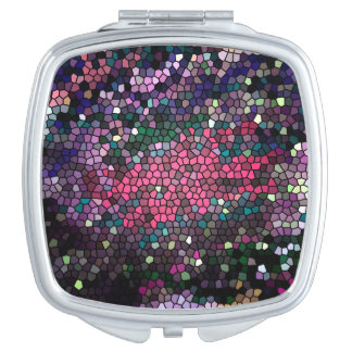 Piel 2 del dragón del mosaico - espejo compacto