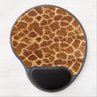 Piel de la jirafa alfombrilla gel