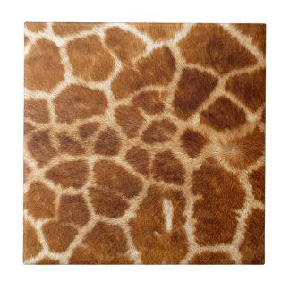 Piel de la jirafa azulejo cuadrado pequeño