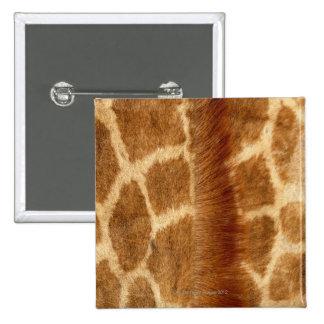 Piel de la jirafa chapa cuadrada