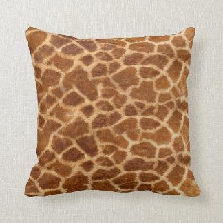 Piel de la jirafa cojín