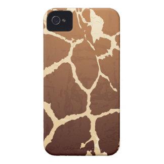 Piel de la jirafa iPhone 4 Case-Mate carcasa