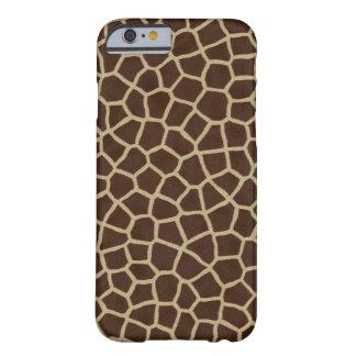 Piel de la jirafa funda barely there iPhone 6