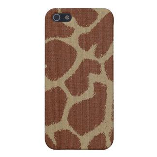 Piel de la jirafa iPhone 5 cobertura