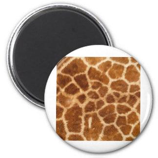 Piel de la jirafa imán de nevera