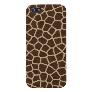 Piel de la jirafa iPhone 5 cárcasas