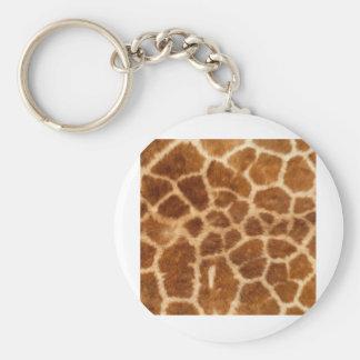 Piel de la jirafa llaveros