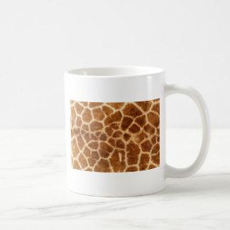 Piel de la jirafa taza