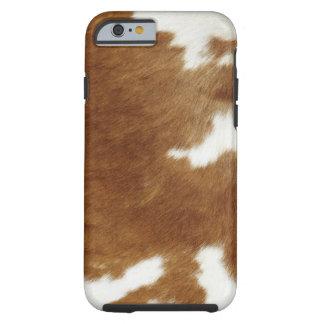 Piel de la vaca funda para iPhone 6 tough