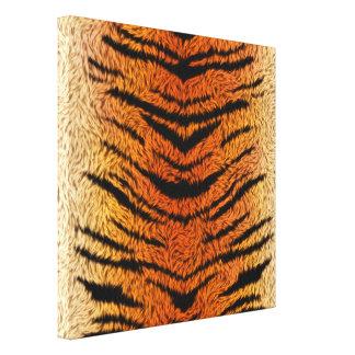 Piel del animal del tigre de Bengala Lienzo
