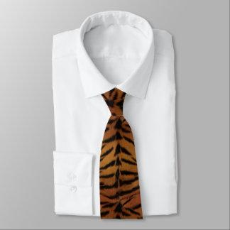 Piel del tigre corbatas