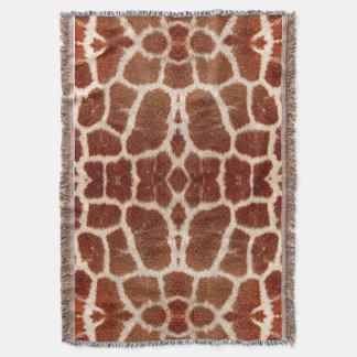Piel original de la jirafa manta