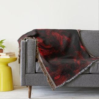 Piel roja del dragón manta