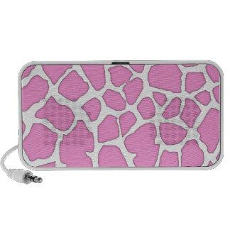 piel rosada de la jirafa iPhone altavoces