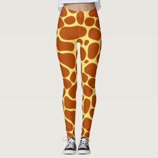 Pieles de la jirafa leggings