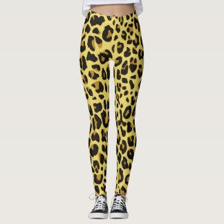 Pieles del leopardo leggings