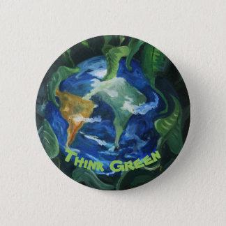 Piense el botón verde