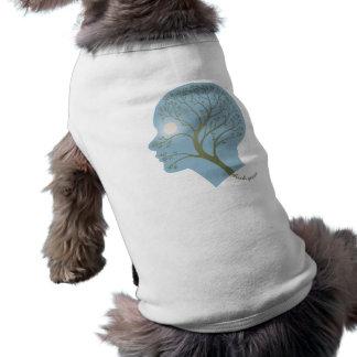 Piense el verde III Camiseta Sin Mangas Para Perro
