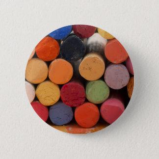 piense en color chapa redonda de 5 cm