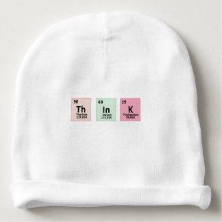 Piense - la química gorrito para bebe