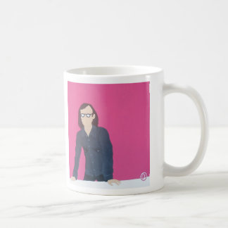 Pienso que él está aseado taza de café