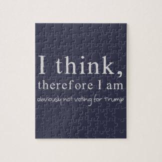 Pienso que por lo tanto no estoy votando puzzle