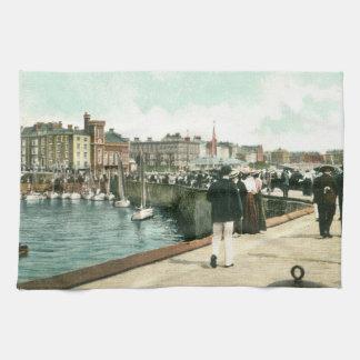 Pier del norte, 1905) toallas de té de Bridlington