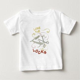 Pierda las cerraduras camiseta de bebé