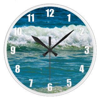 Pierdase en las ondas reloj redondo grande