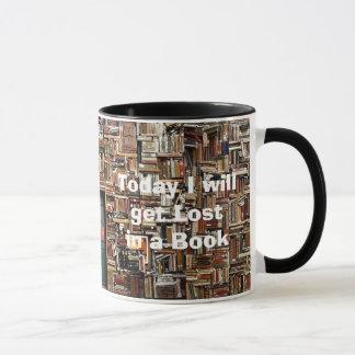 """""""Pierdase en taza de café del libro"""""""