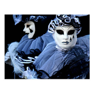 Pierrot triste postales