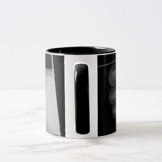 pies de la radiografía de situación de la taza