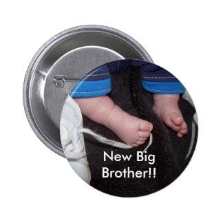 ¡Pies del bebé, nuevo hermano mayor!! Pin