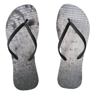 pies del trampolín chanclas