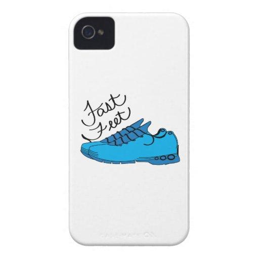 Pies rápidos Case-Mate iPhone 4 cobertura