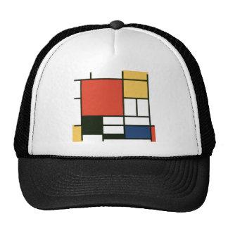 Piet Mondrian - composición Gorras De Camionero