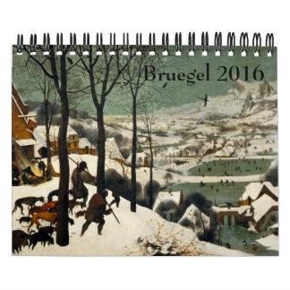 Pieter Bruegel el pequeño 2016 más viejo Calendario De Pared
