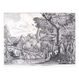 Pieter Bruegel la más vieja región enselvada Postales