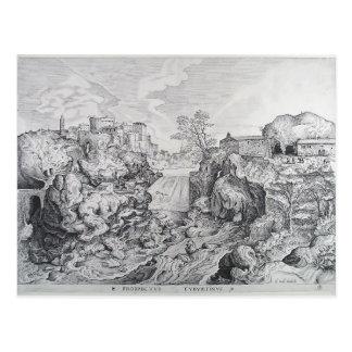 Pieter Bruegel la más vieja vista de Tivoli Tarjetas Postales