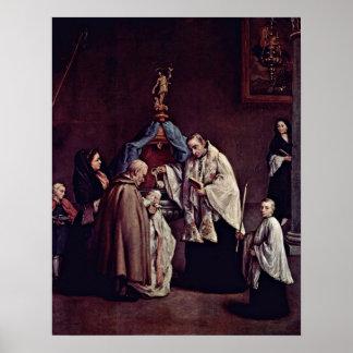 Pietro Longhi - bautismo Impresiones