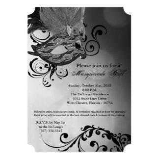 Pieza de plata de Halloween del traje de la Invitación 12,7 X 17,8 Cm